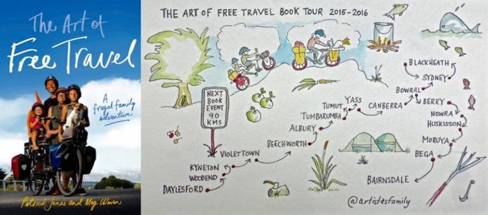 art of free travel book talk Nov 4 2015 extended